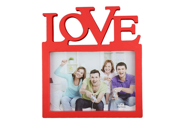 'LOVE' Single Photo - Photo Frame, Red - BuyAbility South Africa