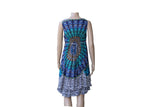 Colourful Dress with Peacock Design - BuyAbility South Africa
