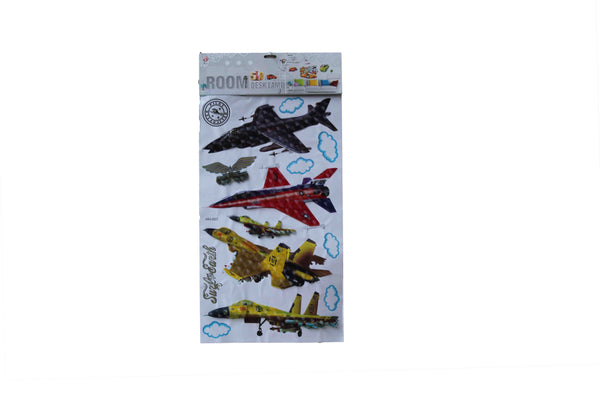 Jet Planes 3D Stickers - BuyAbility South Africa
