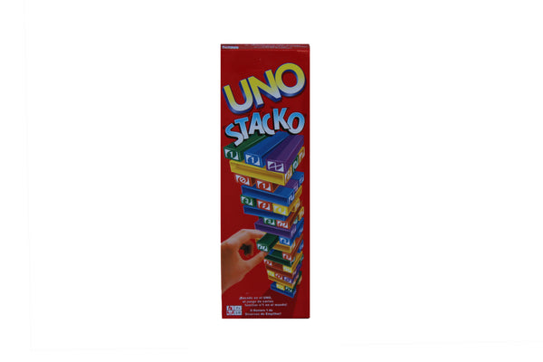 UNO Jenga Board Game (Stack Game) - BuyAbility South Africa