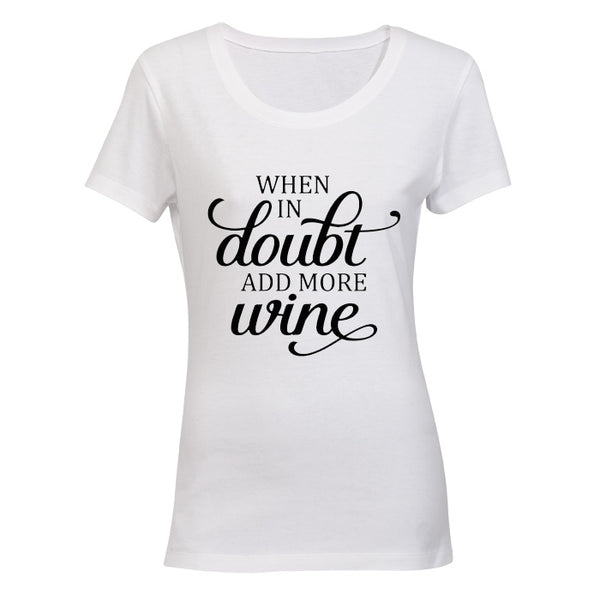 When in Doubt, Add More Wine! BuyAbility SA