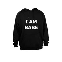 I am Babe! - Hoodie - BuyAbility South Africa