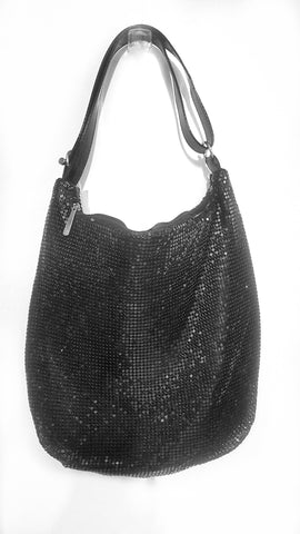 Mesh bag, large black.