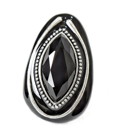 Rings Egyptian Black ring - Living in Style with Olga