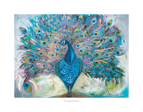 Petra the Peacock - Ltd Edition Print
