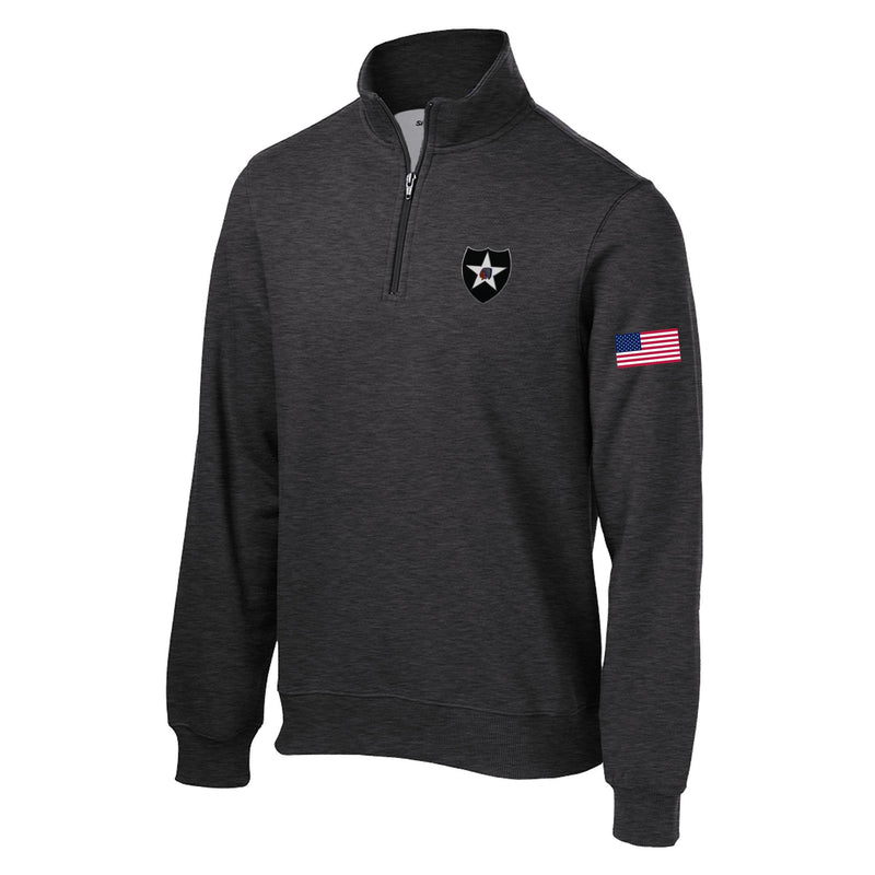 2nd Infantry 1/4 Zip Sweatshirt