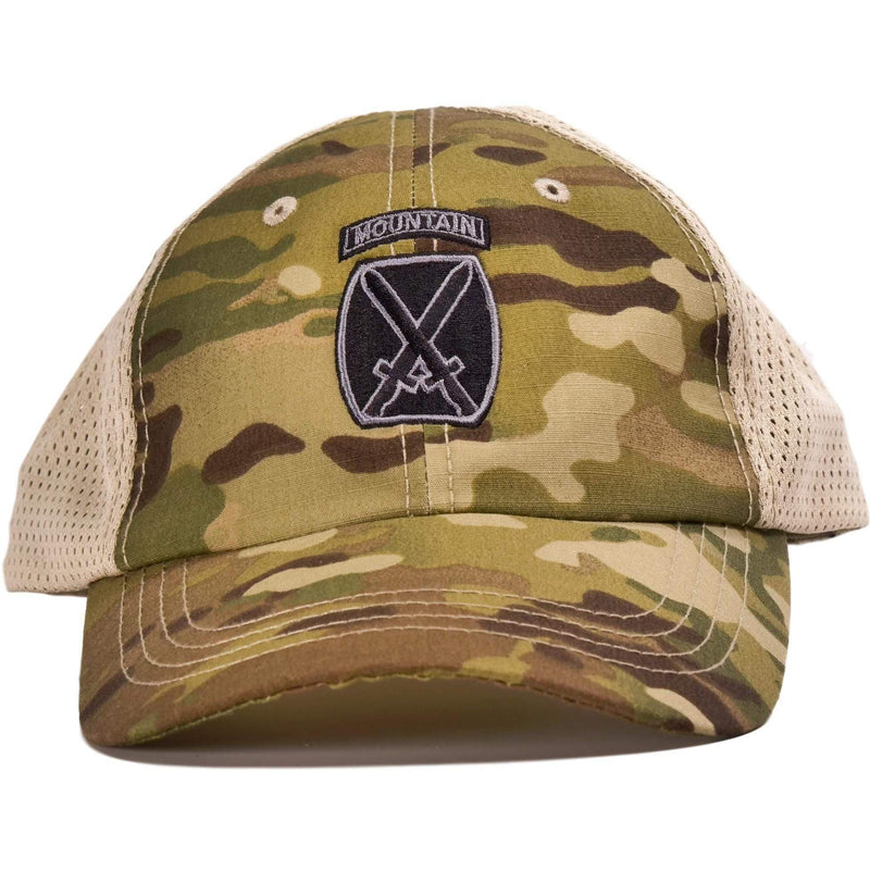 10th Mountain Multicam Mesh Back Hat