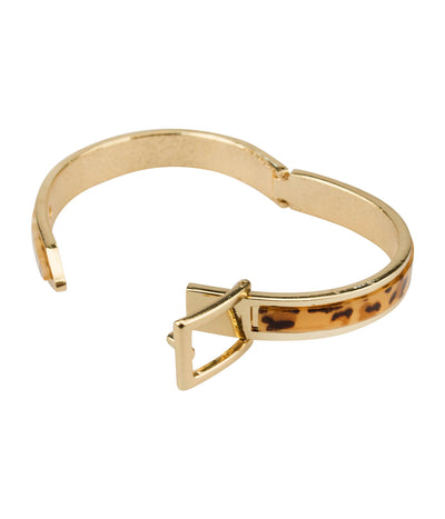 Boldly Buckled Bangle Bracelet