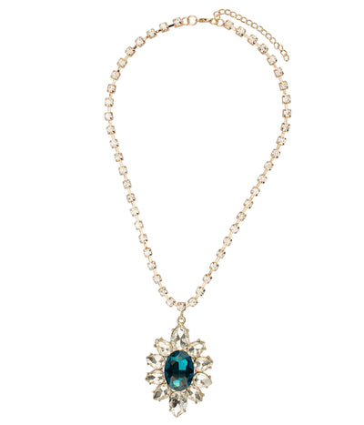 Brilliant Blossom Long Necklace
