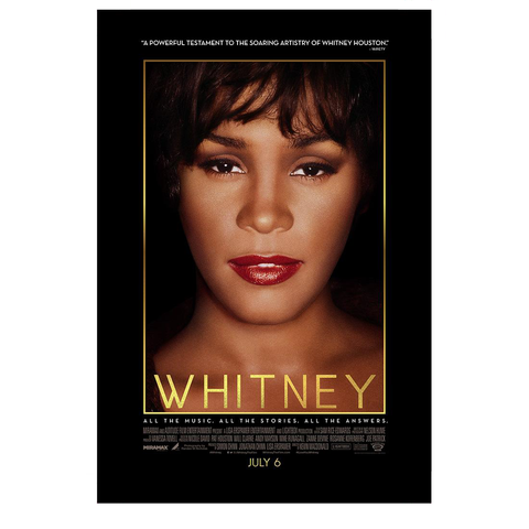 Whitney Close Up Poster
