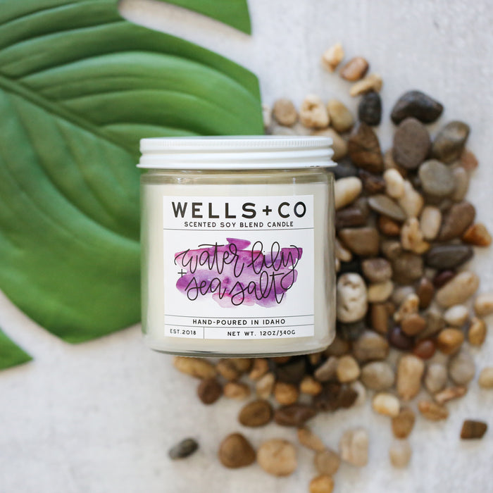 Wells + Co Scented Candles