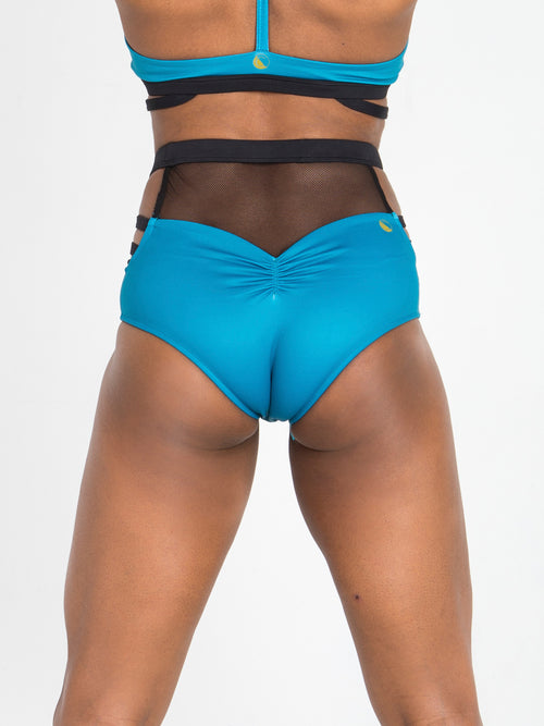 Ride Shorts in Teal