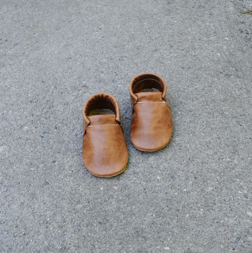 loafers- brown