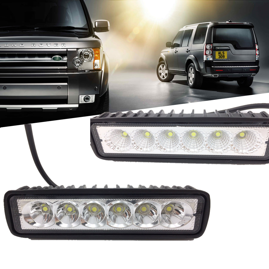 High Power LED Off-Roading / Work Light Bars (Set of Two)
