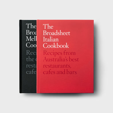 Melbourne and Italian Cookbook Set