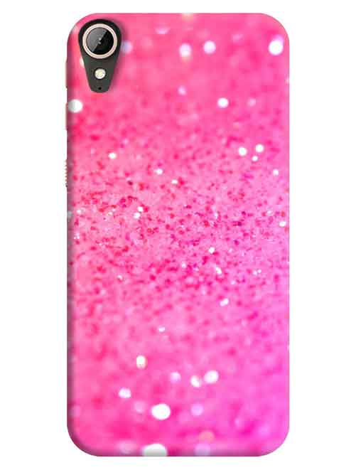 Pink Sparkles HTC Desire 830 Mobile Cover