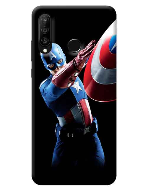 Captain America The Avengers Huawei P30 Lite Mobile Cover