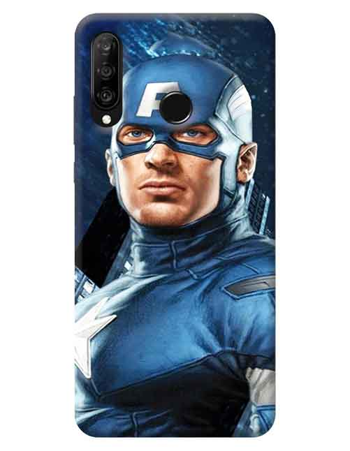 Captain America Huawei P30 Lite Mobile Cover