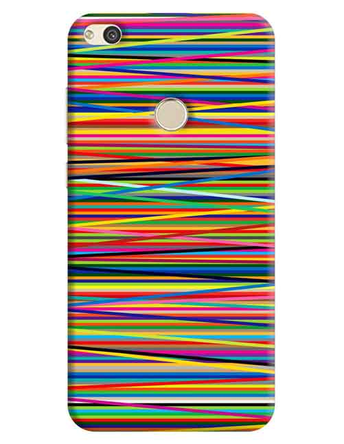 Abstract Huawei P8 Lite 2017 Mobile Cover