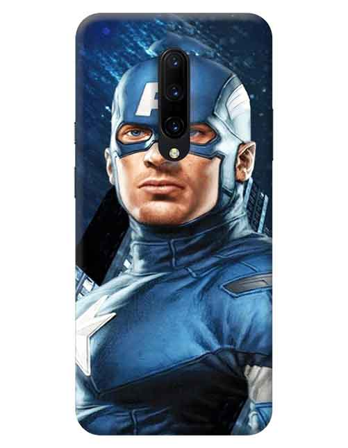 Captain America OnePlus 7 Pro Mobile Cover