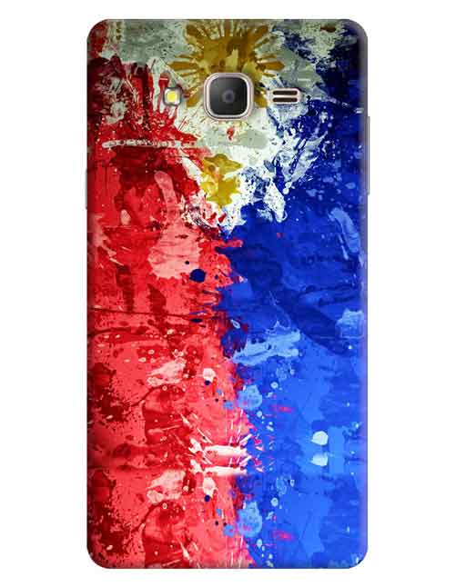 Abstract Samsung Galaxy On7 Pro Mobile Cover