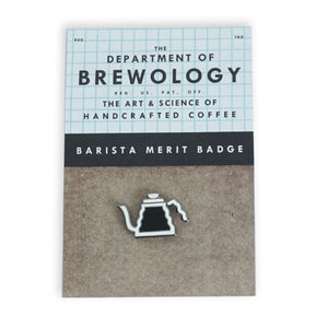 Barista Merit Badge - Kettle