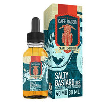 Salty Bastard by Cafe Racer Vape - Salty Bastard Tobacco Ice