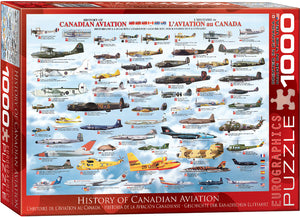 History of Canadian Aviation Puzzle - 1000 Pcs