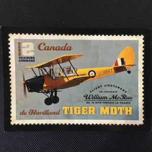 De Havilland Tiger Moth Postcard