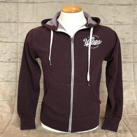 French Fleece Zip-Up Hoodie