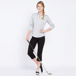 Slimsation Golf Capri - Black