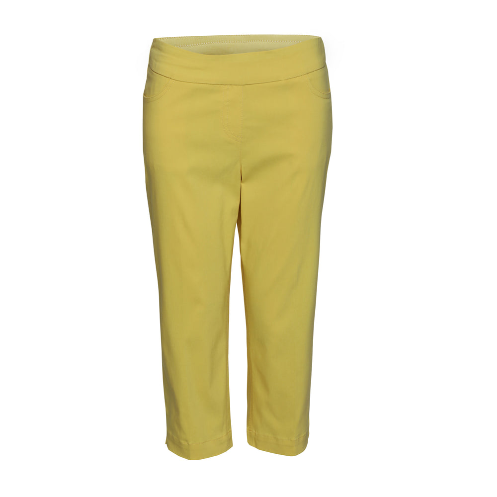 Slimsation Golf Capri - Daffodil