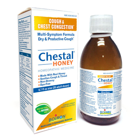 Chestal Honey Cough Syrup 6.7oz