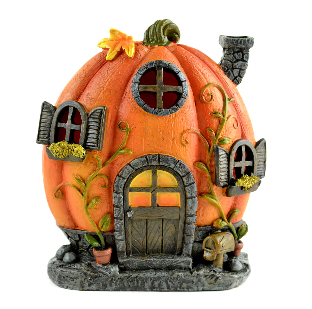 LED Pumpkin House