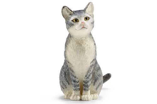 Fairy Garden-Sitting Cat-Animals-Schleich-MyFairyGardens
