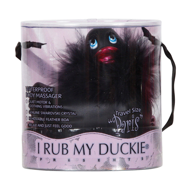 I Rub My Ducky Black Package