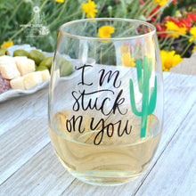 """I'm "" Stuck On You"" - Funny Wine Gift for Mom Wife Girlfriend..."
