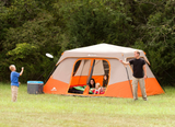 Family Camping Instant 13' x 9' Cabin Camping Tent, Sleeps 8