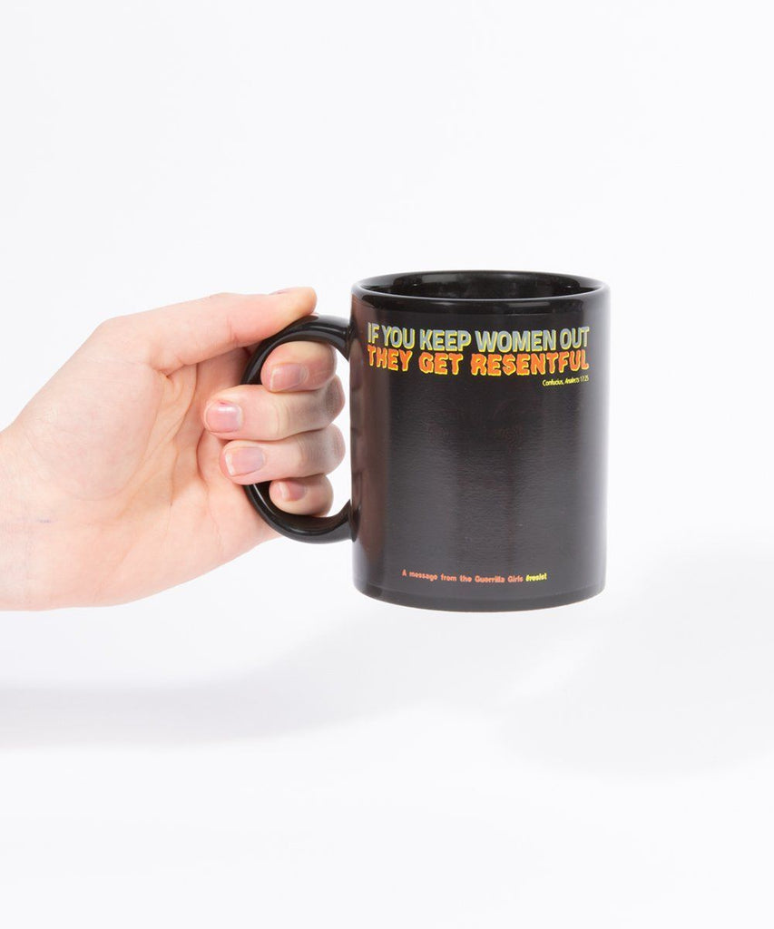 Mug Gorilla Magic x Guerrilla Girls