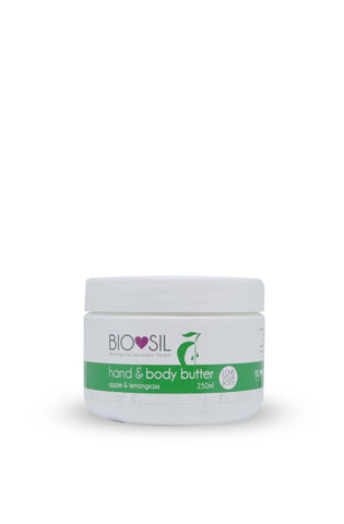 Hand & Body Butter with Colloidal Silver 250ml