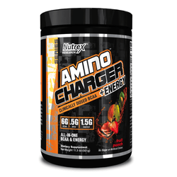 Stimulant Based Amino Nutrex Amino Charger + Energy [320g] - Chrome Supplements and Accessories