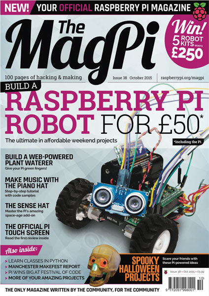 The MagPi magazine #38