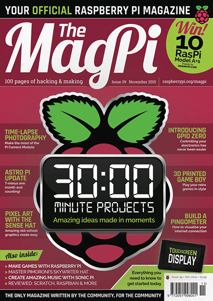 The MagPi magazine #39