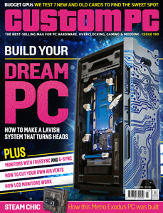 Custom PC magazine #190 promotional copy