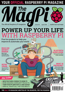 The MagPi magazine #44
