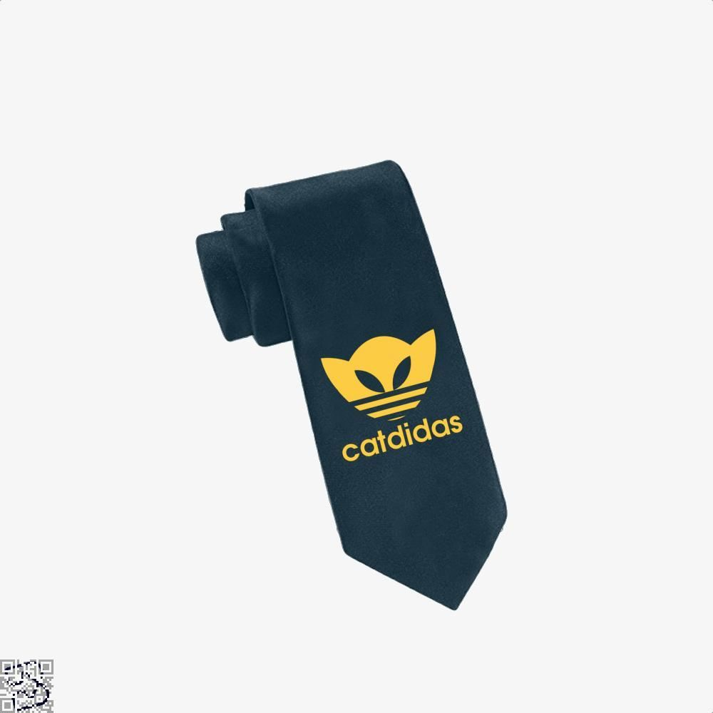 Catdidas Cat Tie - Navy - Productgenjpg