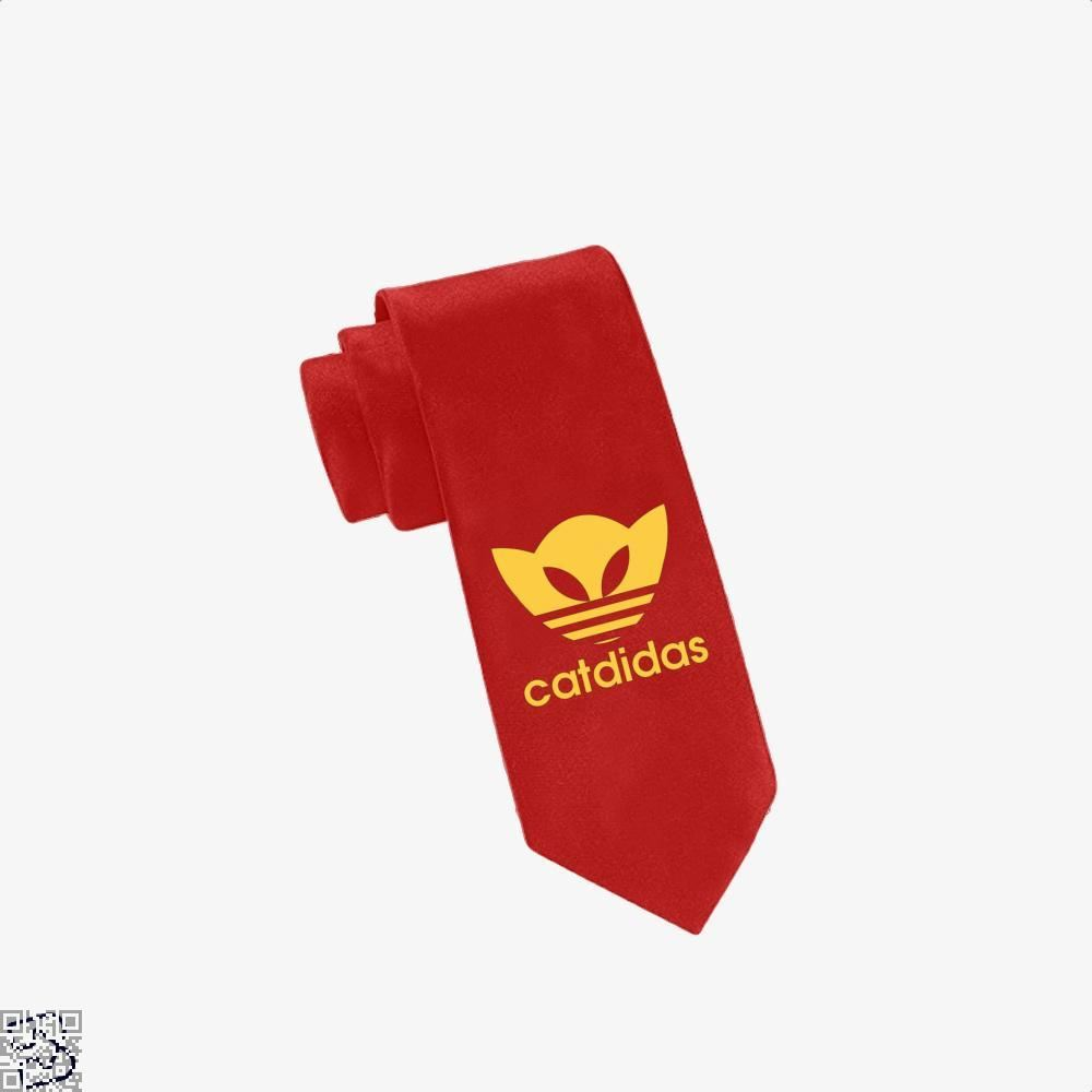 Catdidas Cat Tie - Red - Productgenjpg