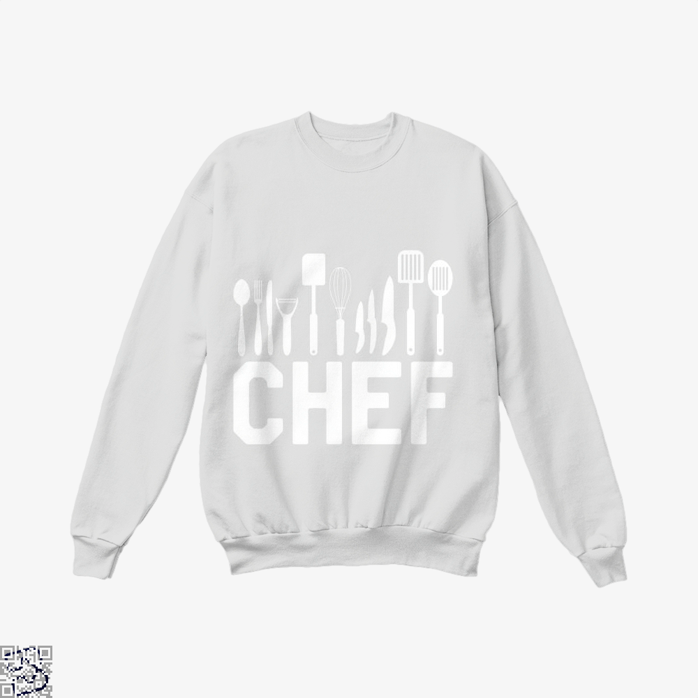 Chef Tools Chefs Crew Neck Sweatshirt - White / X-Small - Productgenapi
