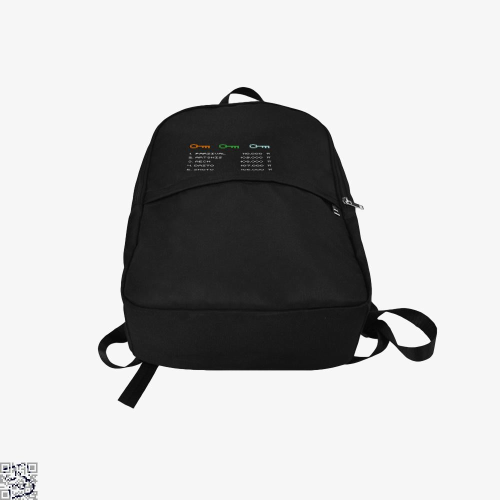 Ready Player One Leaderboard, Ready Player One Backpack