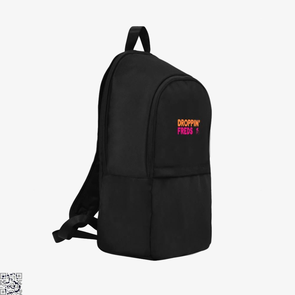 Droppin Freds Doughnuts Backpack - Productgenapi